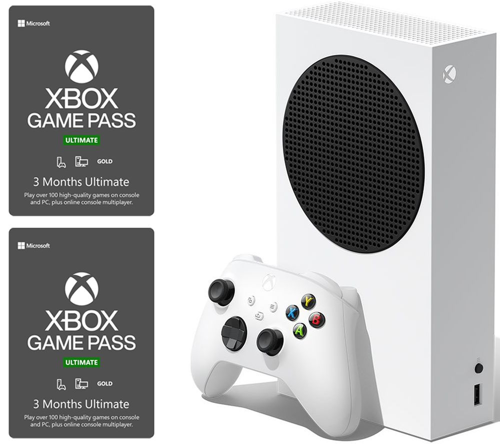 XBOX Series S & 6 Month Game Pass Ultimate Bundle - 512 GB SSD