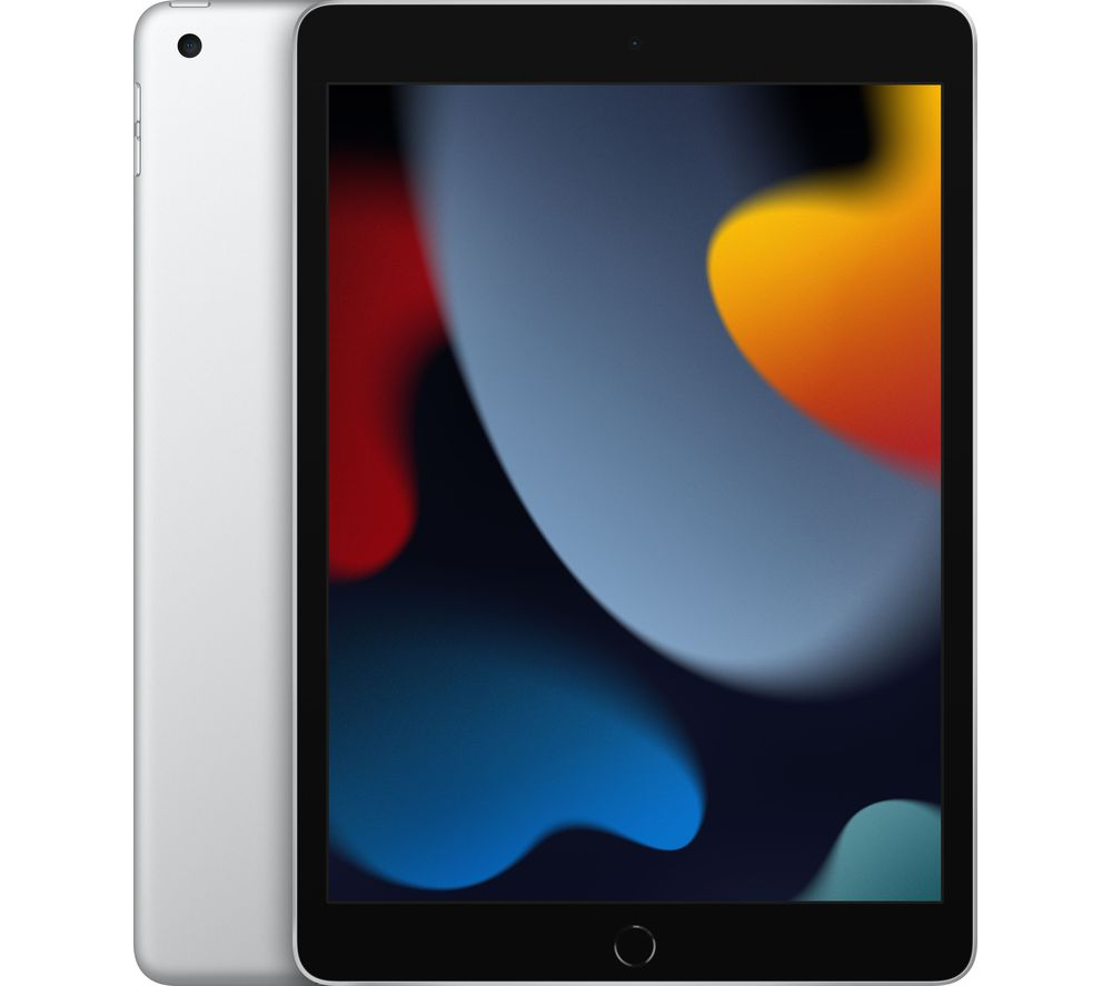 "APPLE 10.2"" iPad (2021) - 256 GB, Silver"