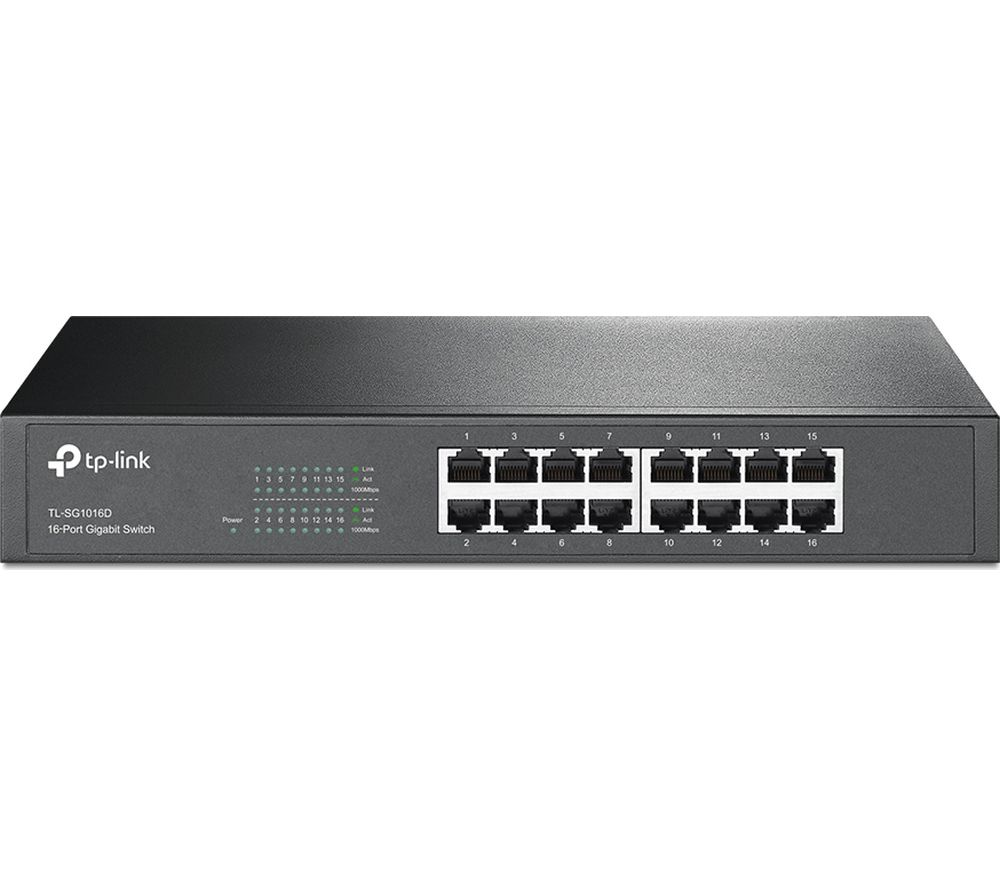 TP-LINK TL-SG1016D Network Switch - 16 port