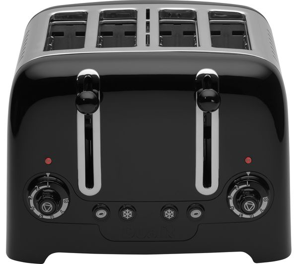 Buy Dualit Dl4b 4 Slice Toaster Black Free Delivery
