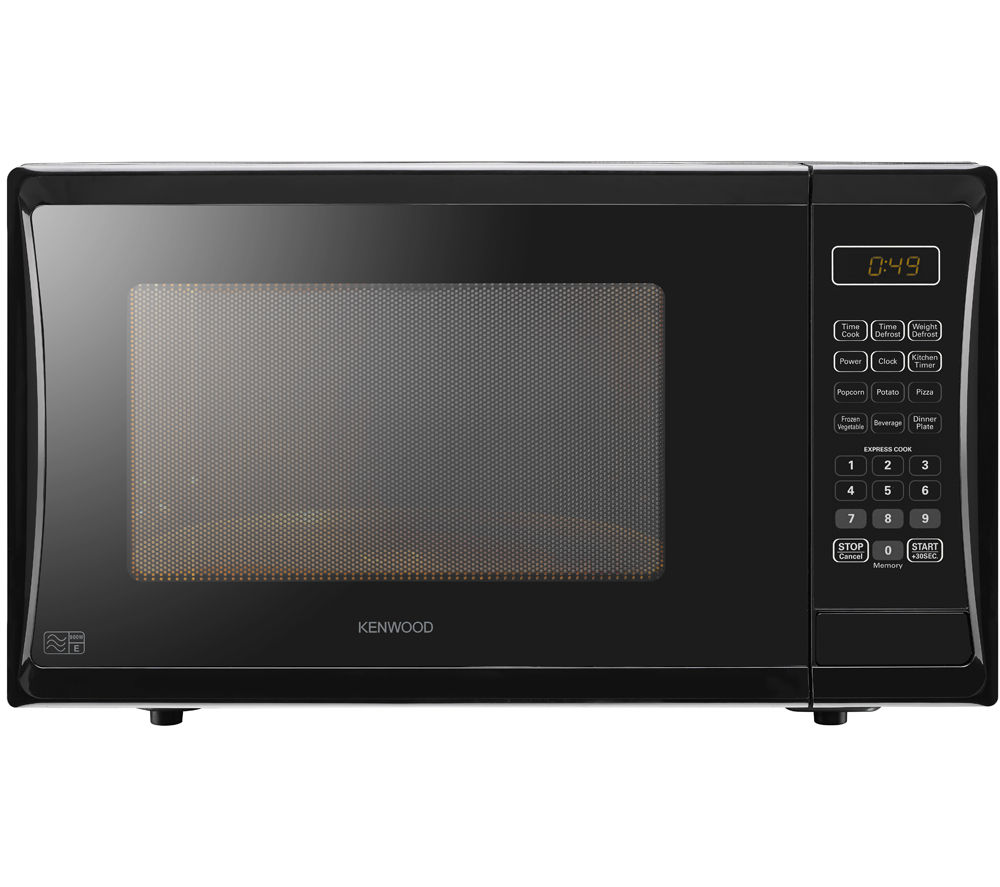 KENWOOD K25MB14 Solo Microwave - Black + Round 2.6-litre Rice Steamer