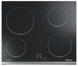 CANDY CH64X Hi-Light Electric Ceramic Hob - Black