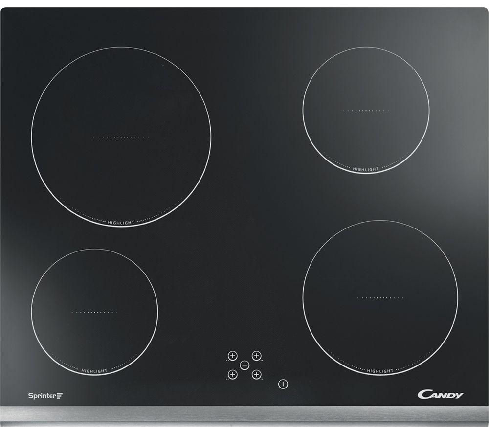 Compare prices for Candy CH64X Hi-Light Electric Ceramic Hob