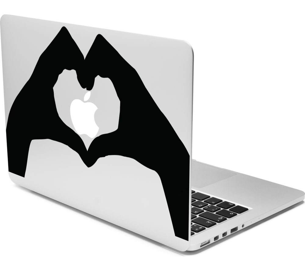 "CASEIT 13"" MacBook Heart Hands Decal"