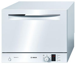 BOSCH SKS62E22EU Compact Dishwasher - White Best Price, Cheapest Prices