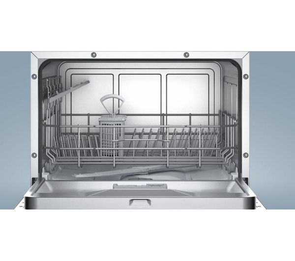 Buy Bosch Sks62e22eu Compact Dishwasher White Free