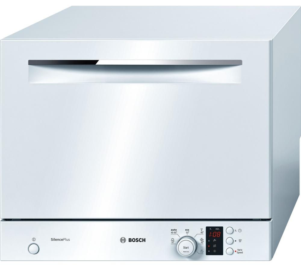 buy bosch sks62e22eu compact dishwasher white free delivery currys. Black Bedroom Furniture Sets. Home Design Ideas