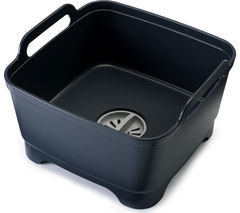 JOSEPH JOSEPH Wash & Drain Washing Up Bowl - Grey