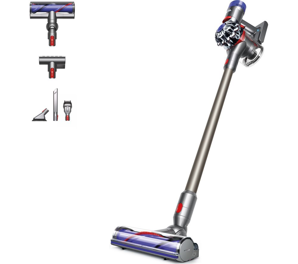 DYSON V8 Animal Cordless Vacuum Cleaner - Nickel, Iron & Titanium