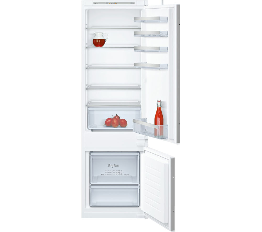 NEFF N50 KI5872S30G Integrated 70/30 Fridge Freezer