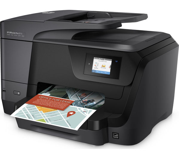 HP OfficeJet Pro 8715 All-in-One Wireless Inkjet Printer ...