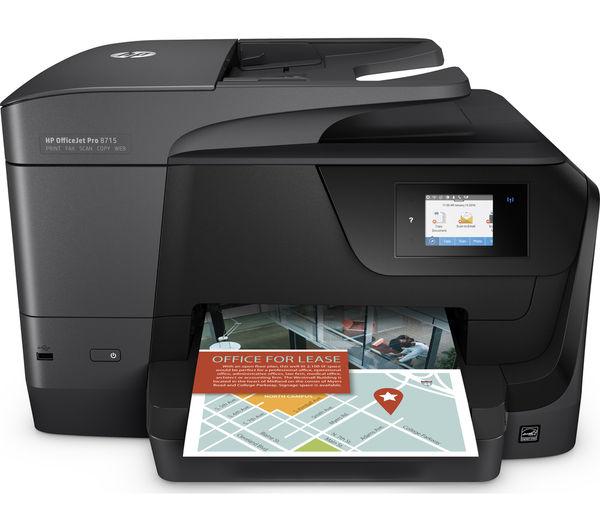 Buy Hp Officejet Pro 8715 All In One Wireless Inkjet
