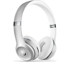 BEATS Solo 3 Wireless Bluetooth Headphones - Silver