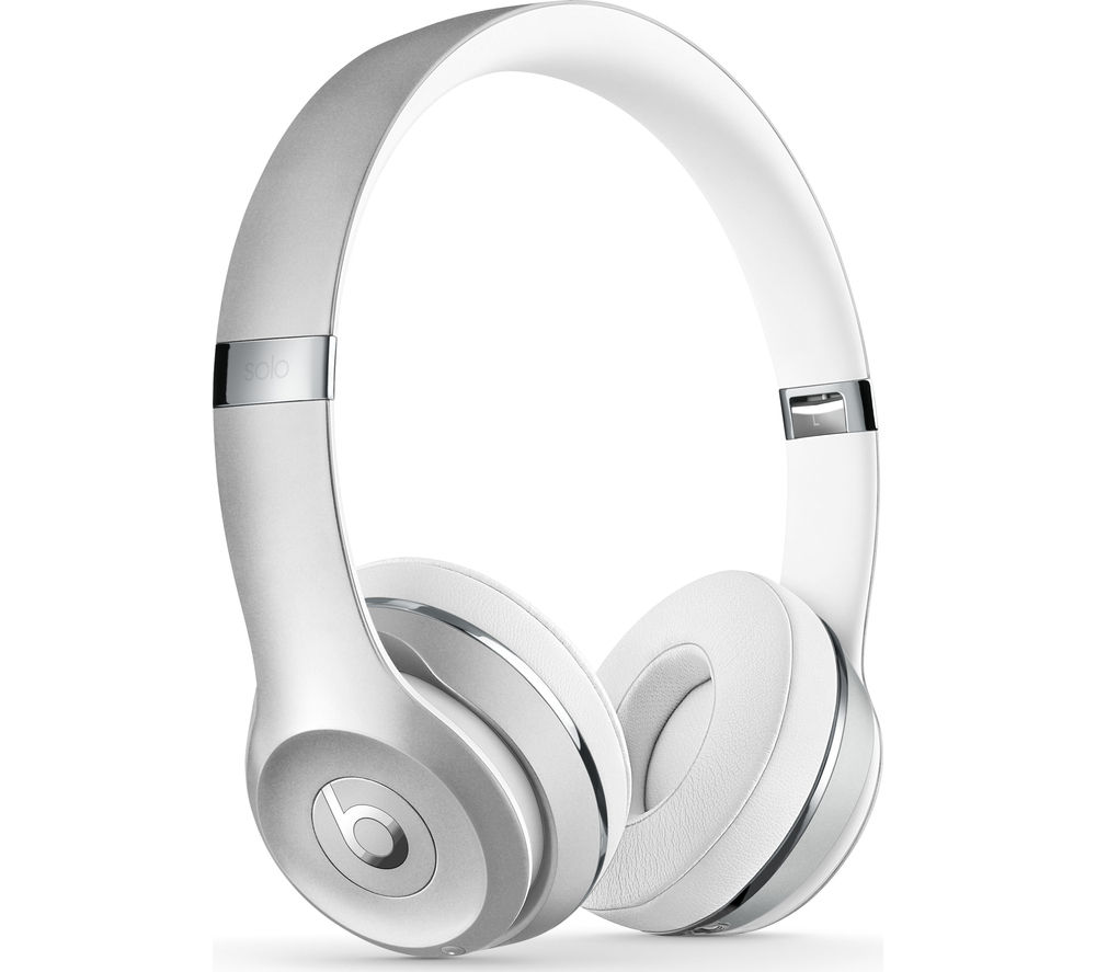 BEATS BY DR DRE Solo 3 Wireless Bluetooth Headphones - Silver