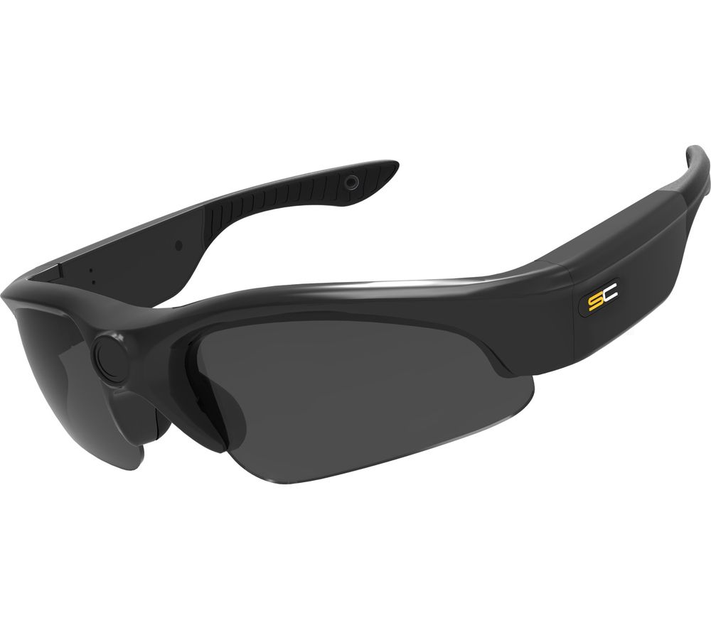 SUNNYCAM Sport Camcorder Glasses - Black