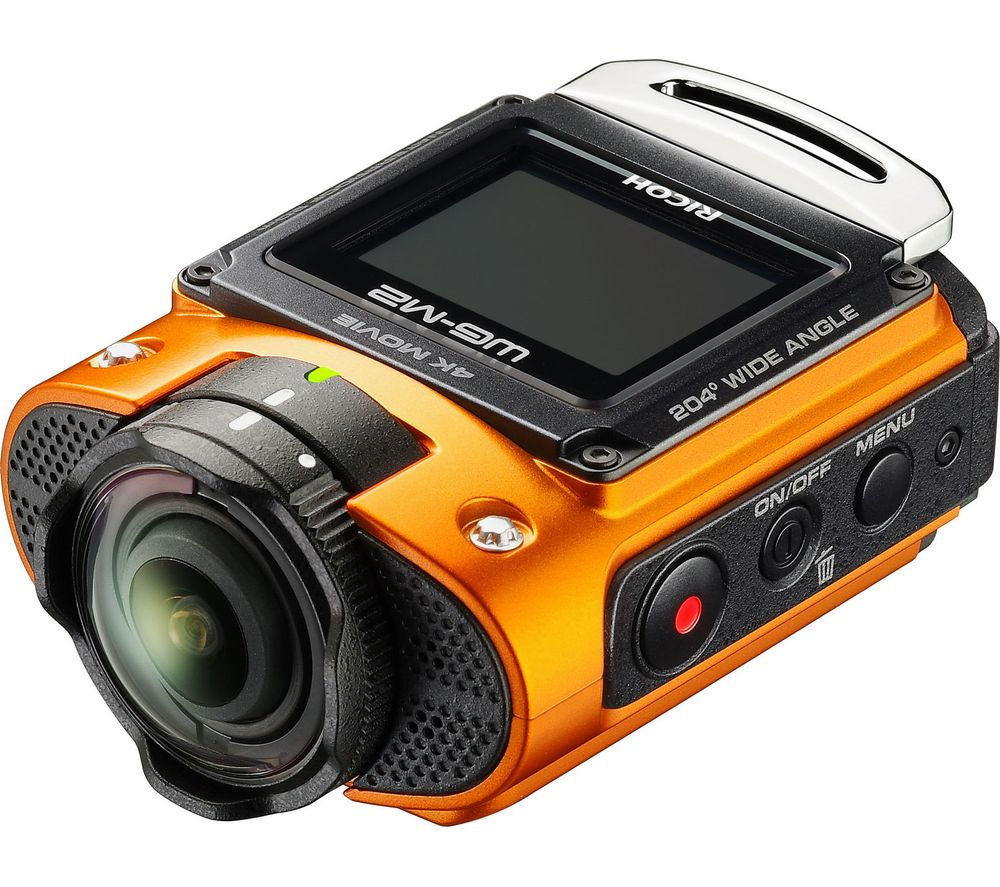 RICOH WG-M2 4K Ultra HD Action Camera - Orange