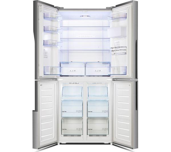 Buy Kenwood Ksbs4dx17 50 50 Fridge Freezer Inox Free