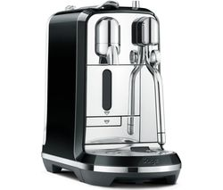 NESPRESSO by Sage Creatista BNE600SLQ Coffee Machine - Liquorice