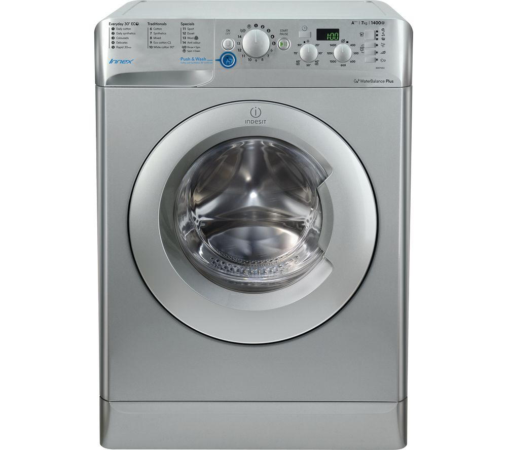 INDESIT Innex BWD 71453 S Washing Machine - Silver