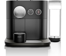 NESPRESSO by Krups Expert XN600840 Smart Coffee Machine - Black