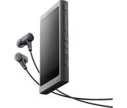 SONY NW-A35 Walkman & Noise Cancelling Headphones Bundle - Black
