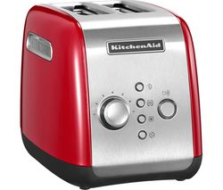 KITCHENAID 5KMT2116BER 2-Slice Toaster - Red