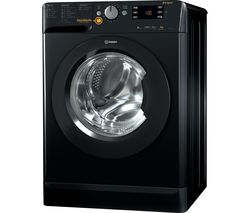 INDESIT XWDE 861480X K 8 kg Washer Dryer - Black
