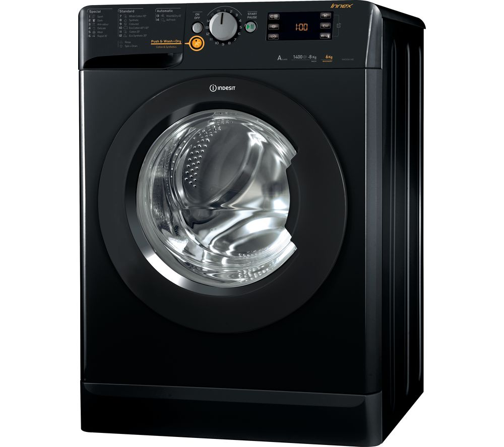 Compare prices for Indesit XWDE 861480X K 8 kg Washer Dryer
