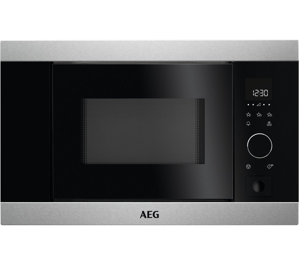 AEG MBB1756S-M Built-in Solo Microwave - Black