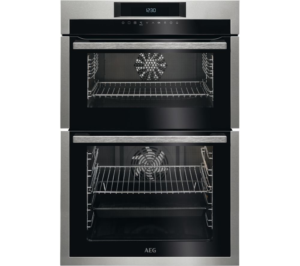 Compare prices for AEG DCE731110M Electric Double Oven