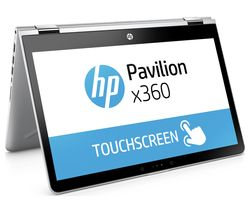 "HP Pavilion x360 14-ba055sa 14"" Touchscreen 2 in 1 - Silver"