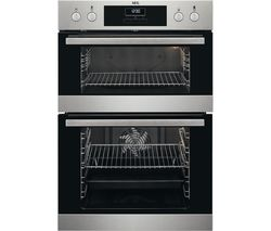 AEG SurroundCook DCB331010M Electric Double Oven - Stainless Steel