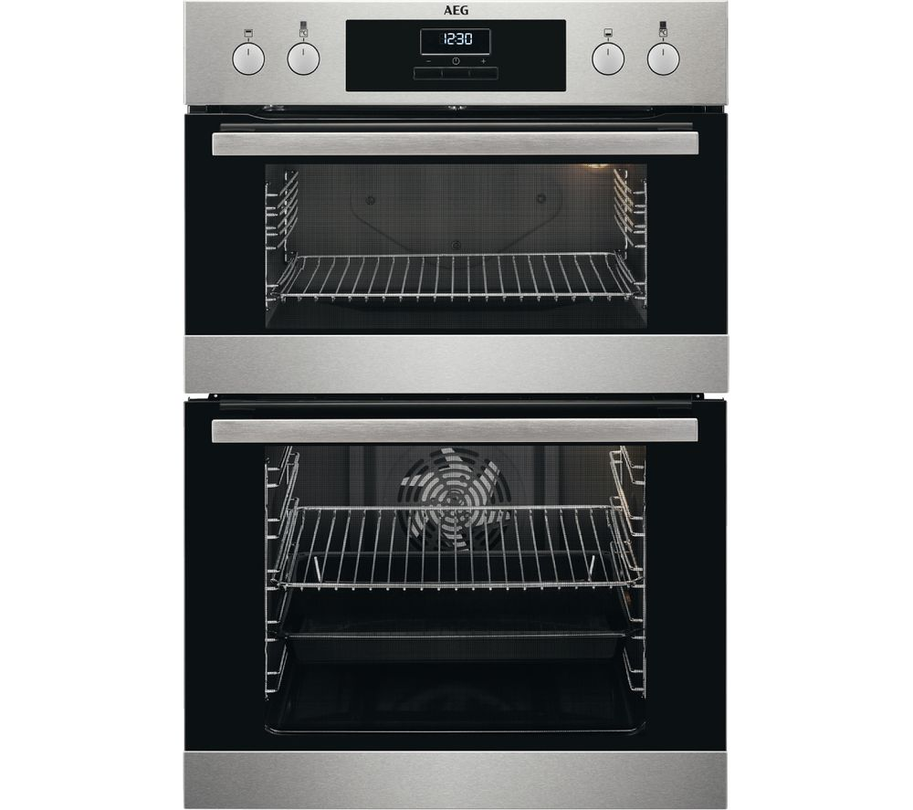 Compare retail prices of AEG SurroundCook DCB331010M Electric Double Oven to get the best deal online