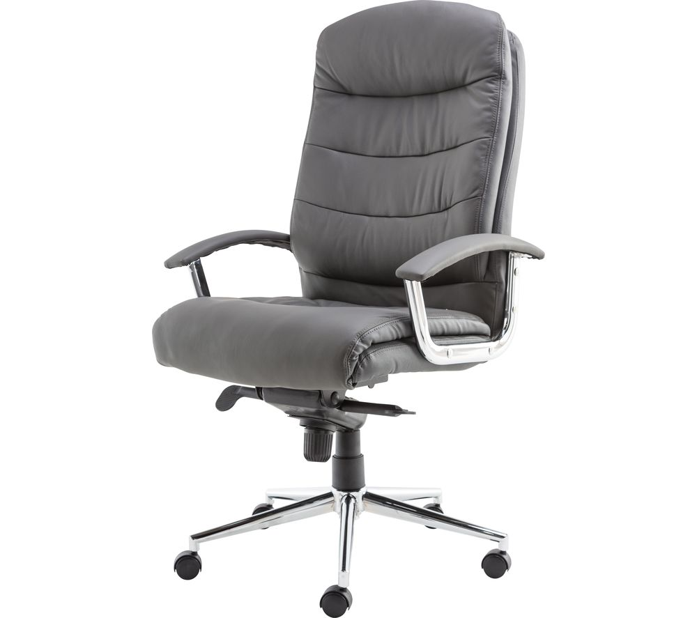 Compare retail prices of Alphason Empire AOC8218GRY Leather Tilting Executive Chair to get the best deal online