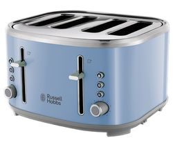 RUSSELL HOBBS Bubble 24413 4-Slice Toaster - Blue