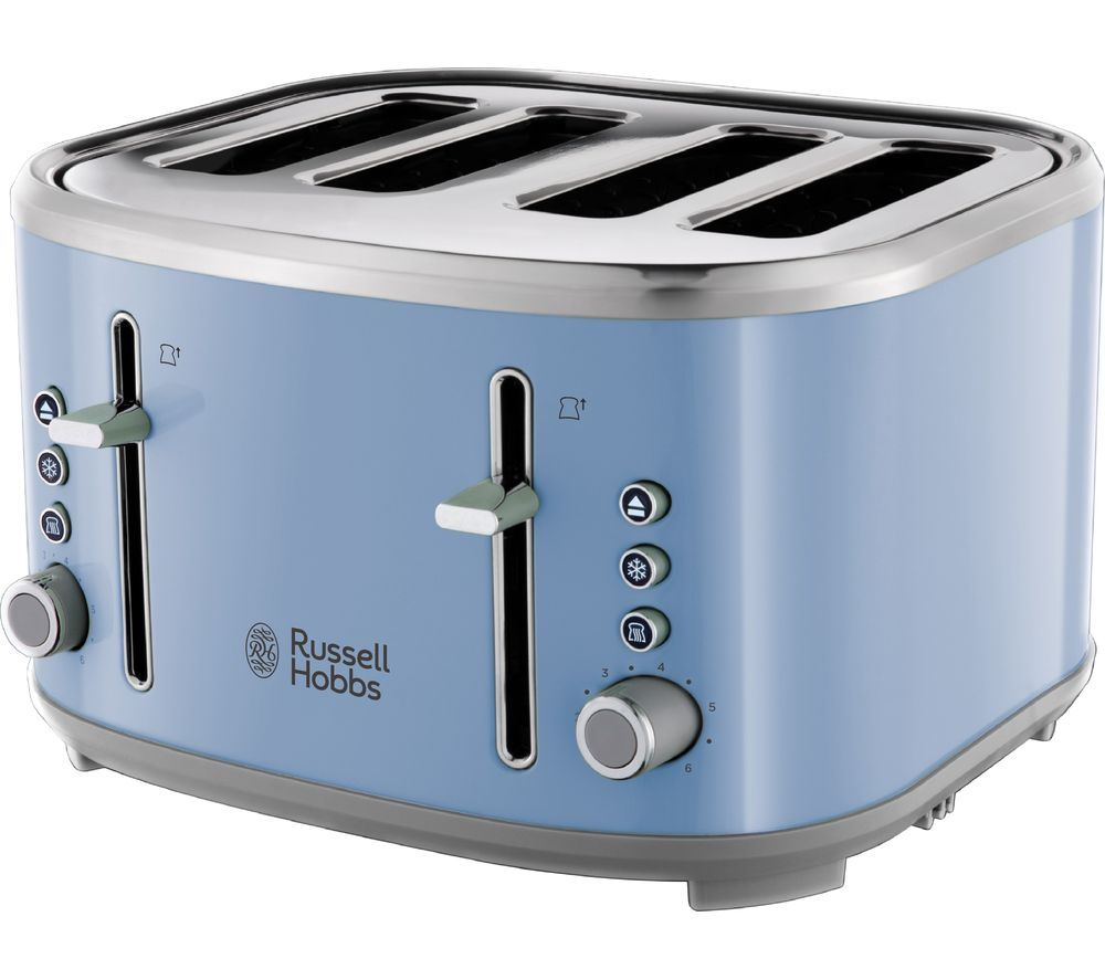 buy russell hobbs bubble 24413 4 slice toaster blue free delivery currys. Black Bedroom Furniture Sets. Home Design Ideas