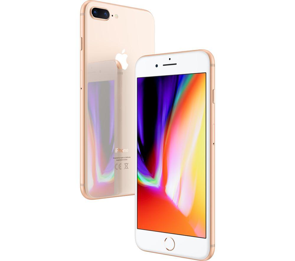 APPLE iPhone 8 Plus - 256 GB, Gold