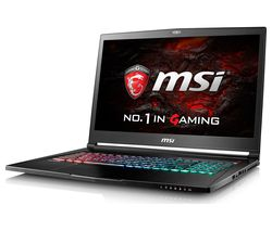 "MSI Stealth Pro 17.3"" Intel® Core™ i7 GTX 1070 Gaming Laptop - 1 TB HDD & 256 GB SSD"