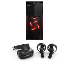 LENOVO Legion Y520 Gaming PC, Explorer Mixed Reality Headset & Controllers Bundle
