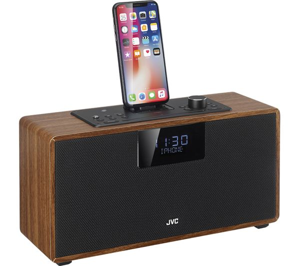 buy jvc rd d328b bluetooth all in one hi fi system. Black Bedroom Furniture Sets. Home Design Ideas