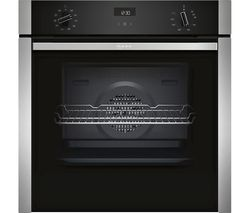 N50 B3ACE4HN0B Slide&Hide Electric Oven - Stainless Steel