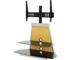 AVF Options Stack 900 mm TV Stand with Bracket - Black
