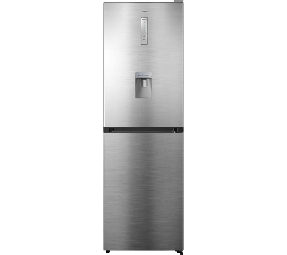 HISENSE RB412N4WI1 50/50 Fridge Freezer - Stainless Steel, Stainless Steel