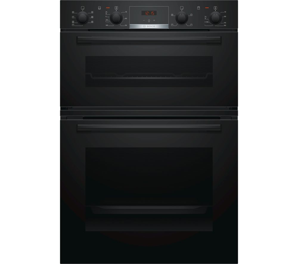 BOSCH MBS533BB0B Electric Double Oven - Black