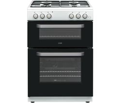 LOGIK LDOG60W18 60 cm Gas Cooker - White
