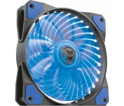 TRUST GXT 762B 120 mm Case Fan - Blue LED