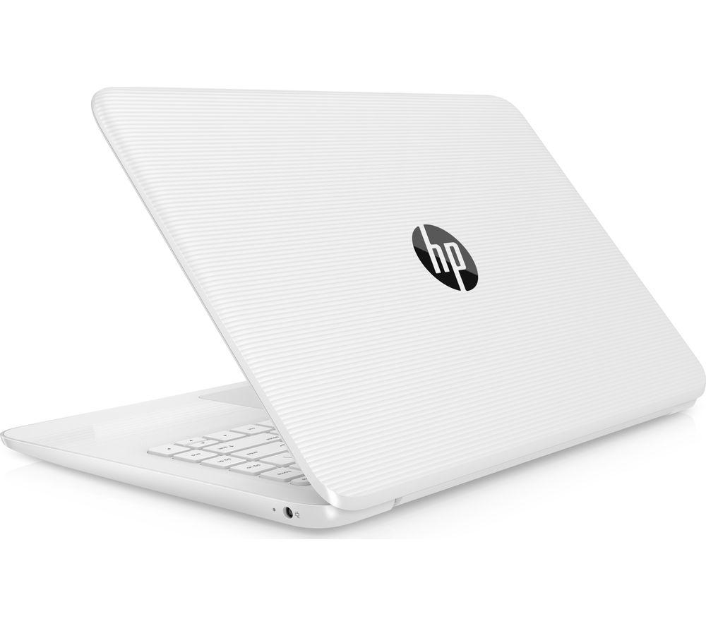 "HP Stream 14-ax057sa 14"" Intel® Celeron™ Laptop - 32 GB eMMC, White"