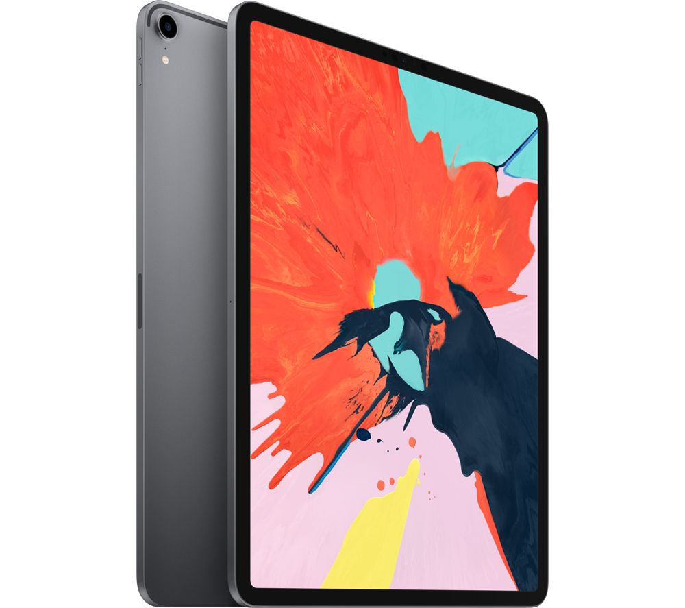 "Image of 12.9"" iPad Pro (2018) - 64 GB, Space Grey, Grey"