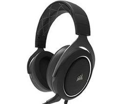 CORSAIR HS60 7.1 Gaming Headset - Black & White