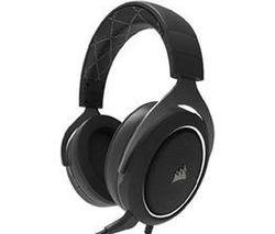 CORSAIR HS60 7.1 Gaming Headset - Black & White